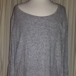 Simply Vera Top bell sleeves gray Suze M